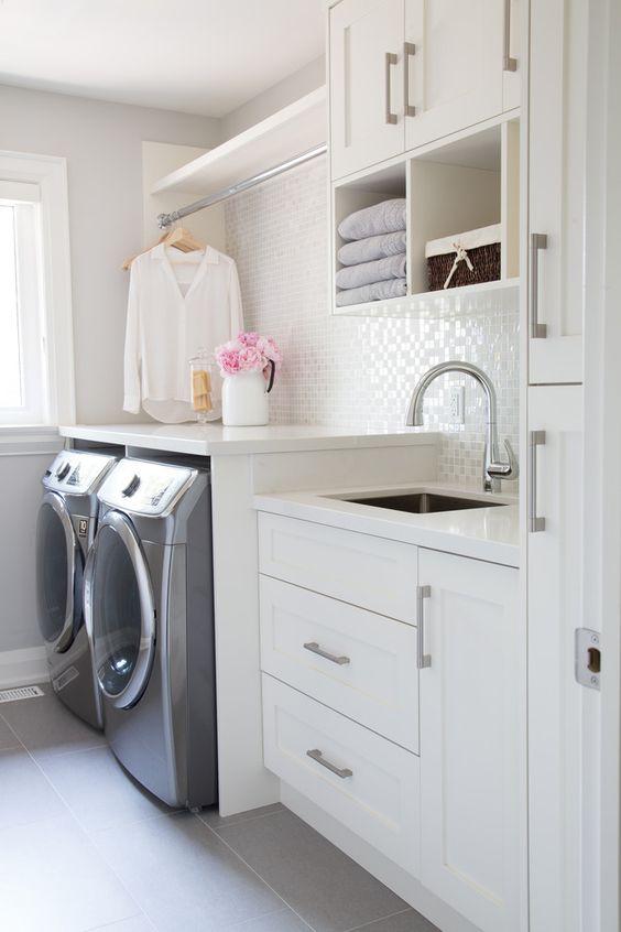 6 Splendid tiny laundry room ideas - Daily Dream Decor