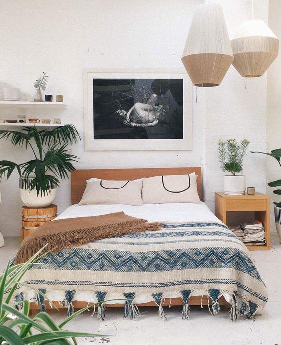 Boho Chic Living Room Teal