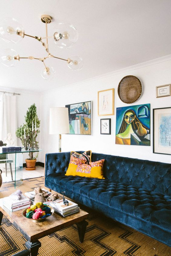 8 Seventies inspired spaces that get you ready for fall - Daily ...