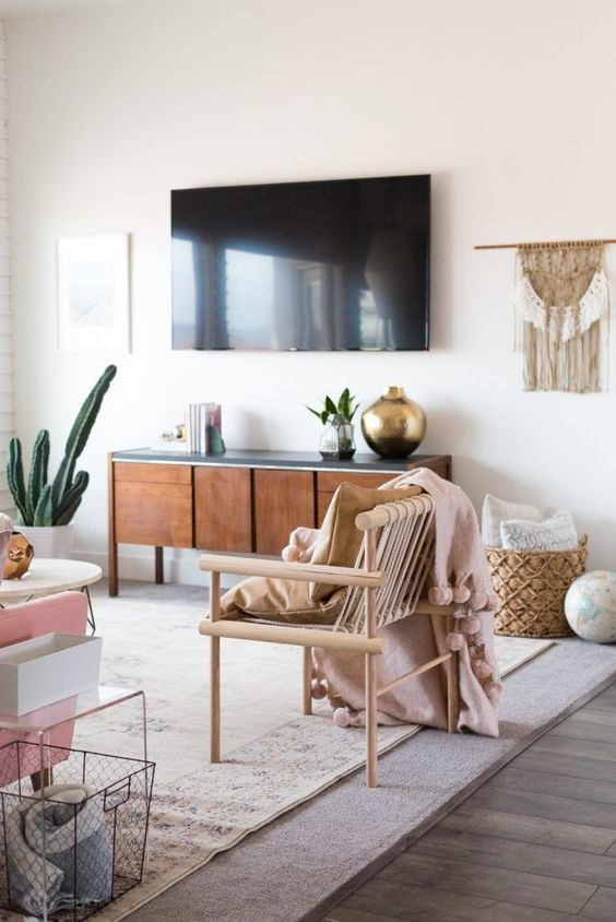 Apartment Living Room: 6 Boho Living Room Spaces That Will Wow You This Fall