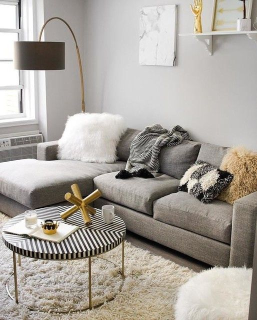7 Gray living rooms that match the cold season