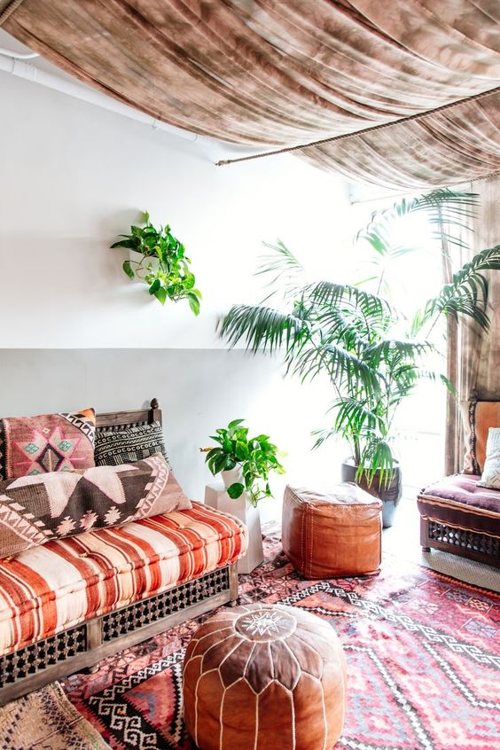 7 Dreamy ideas for a Moroccan inspired living room - Daily Dream Decor