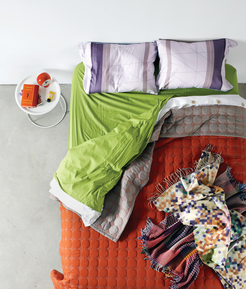 Between The Sheets Modern Bedding Multicolor