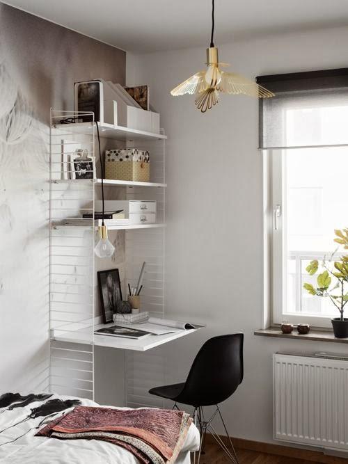 more photos 1adf0 9e1a6 Small corner home office idea - Daily Dream Decor