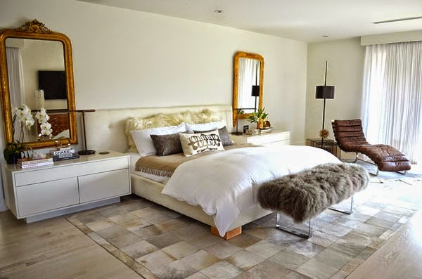 Luxe Bedroom With Golden Details Daily Dream Decor