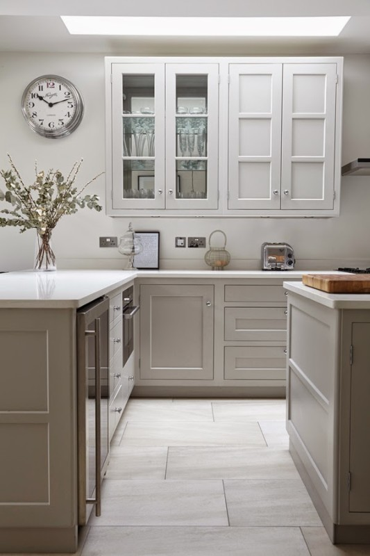 beautiful kitchen in neutral tones  daily dream decor