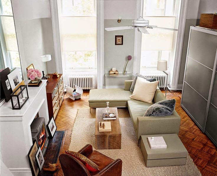 Charming tiny apartment in new york daily dream decor for Smallest apartment in nyc