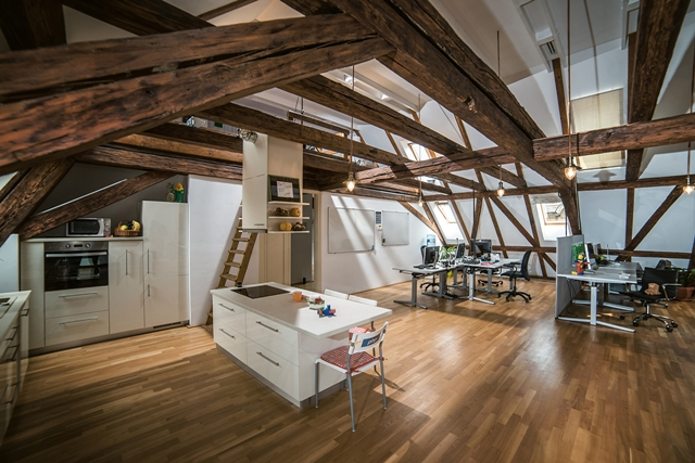 Awesome Attic Office In Timisoara Daily Dream Decor