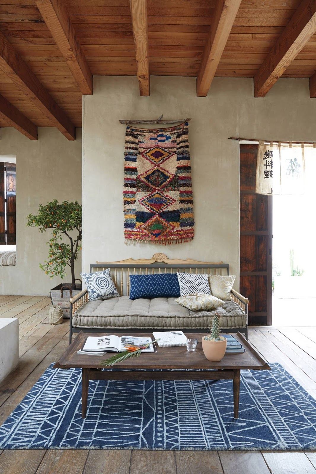 Three bohemian daybeds that will make you dream daily for Bohemian style daybed
