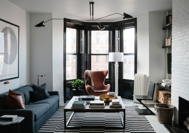 brooklyn-brownstone-apartment - Daily Dream Decor