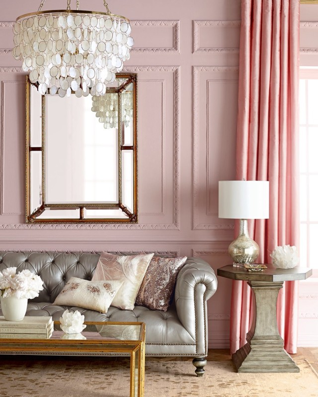 Living Room Ideas To Fall In Love With: 10 Pink Spaces That You Will Fall In Love With