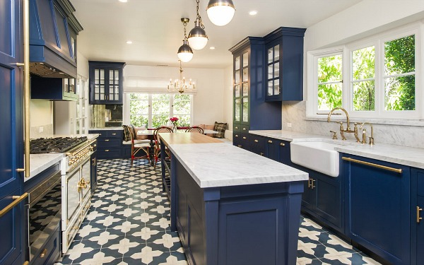 6 Dreamy Blue Kitchens For This Spring