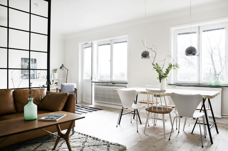 Stunning Small Stockholm Apartment Daily Dream Decor