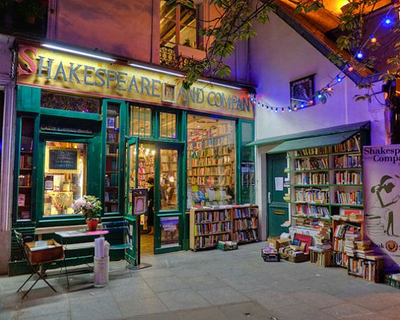 Shakespeare and Company in Paris, France 2