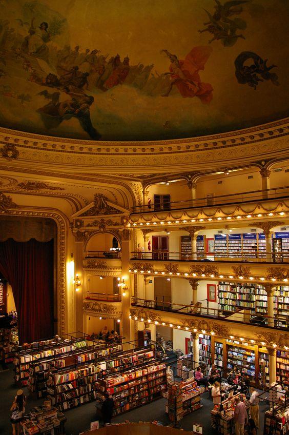 el ateneo buenos aires bookstore