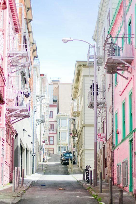 san francisco street facade