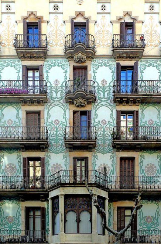 street facade barcelona