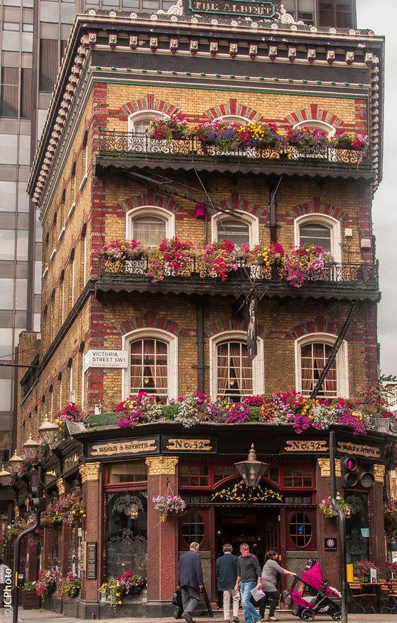 street facade london