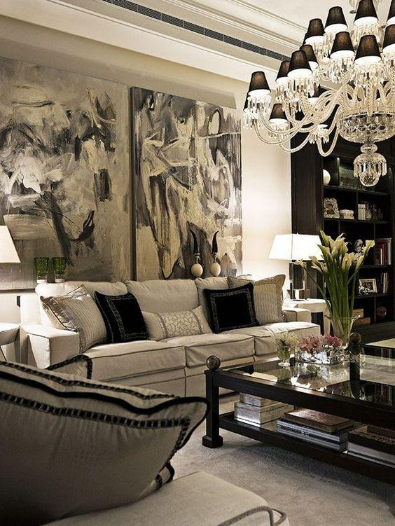 Simply White Living Room Ideas: 9 Glam Ideas For An Elegant Living Room