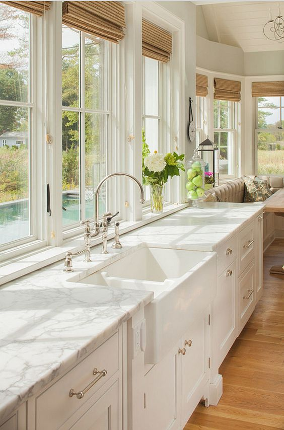 Top 5 marble kitchens - Daily Dream Decor