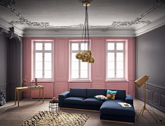 8 pink and blue interiors that will make you swoon