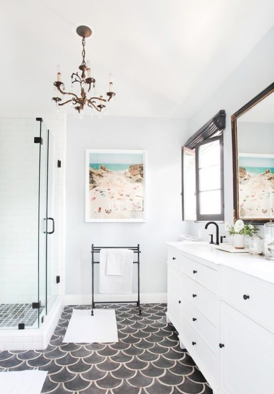 How Can Fish Scale Tiles Bring Glamour Into Your Home