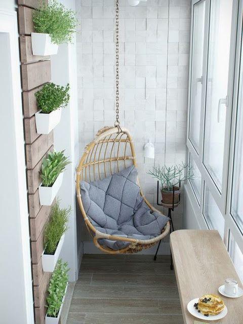small balcony swing