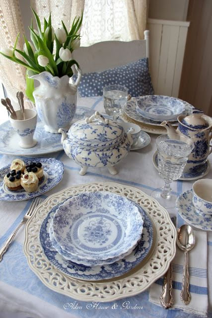 How to make a dreamy tea setting