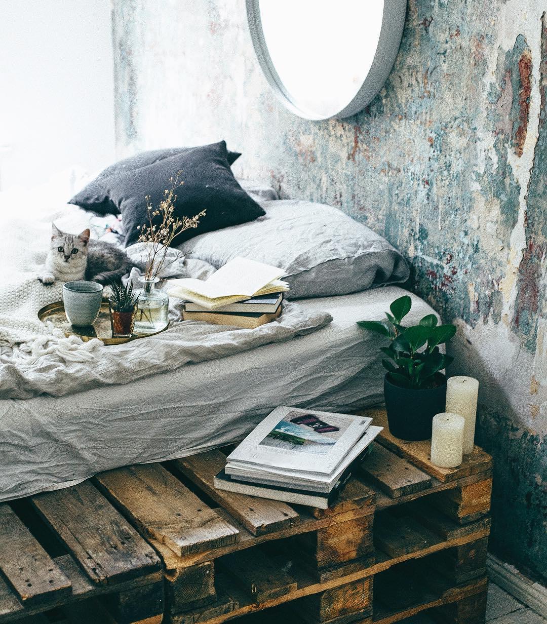 Insta dreamy bohemian bedroom