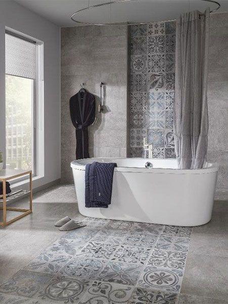 8 Tile ideas for your bathroom