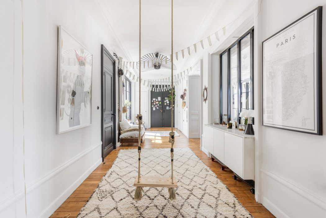 A French apartment full of personality