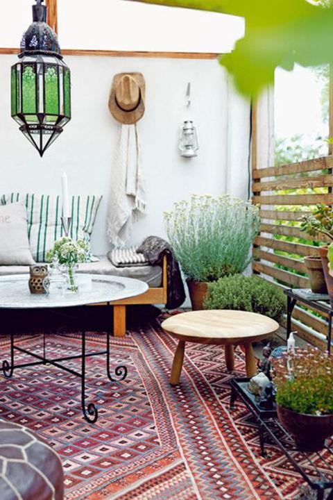 green boho design