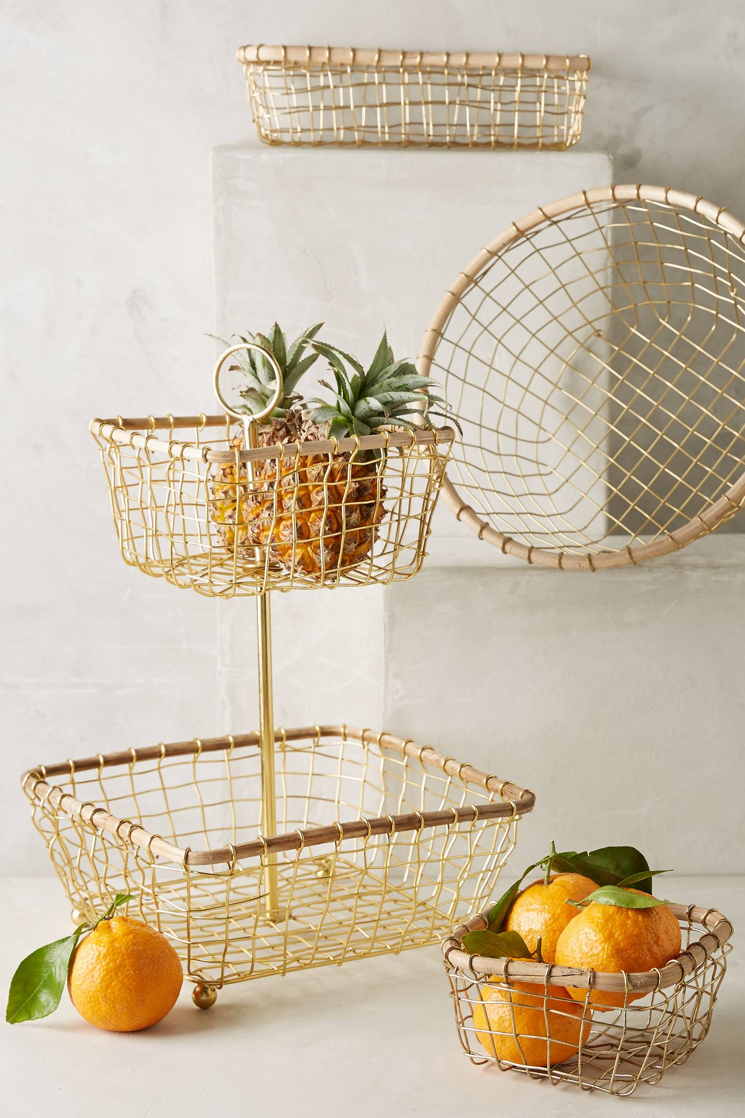 brushed-wire-kitchen-baskets