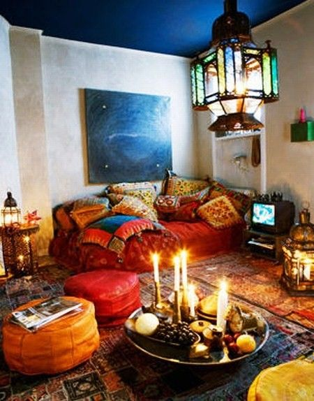 6 Bohemian living rooms that will make you lost in Wonderland
