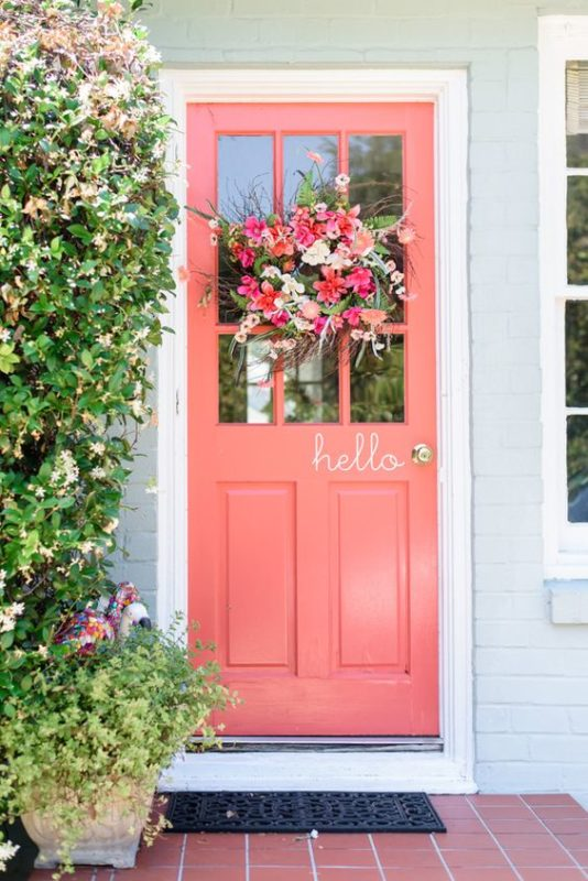 10 gorgeous doors that say 39 39 welcome 39 39 daily dream decor for Door idea pinterest