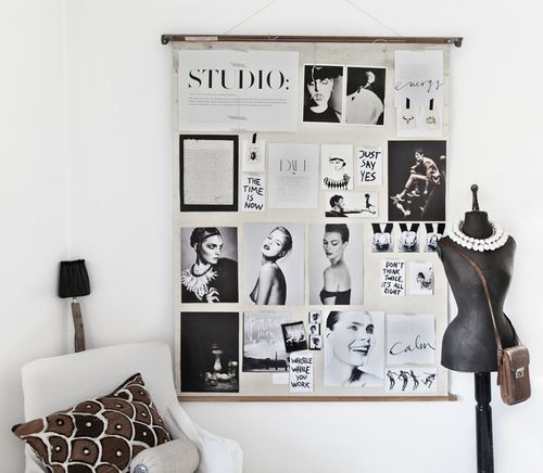 mannequin-and-photo-board