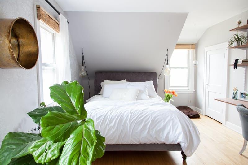 Simple & clean scandi home