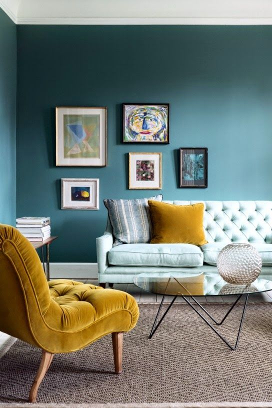blue-and-mustard-room