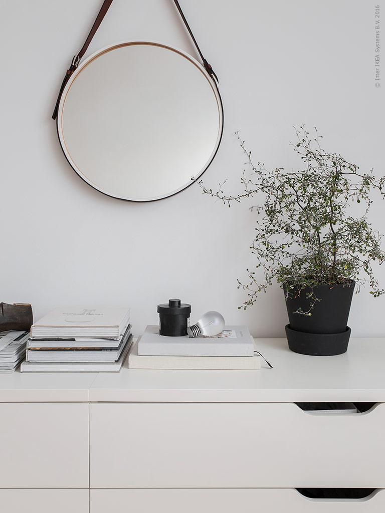 Simple & serene Ikea bedroom