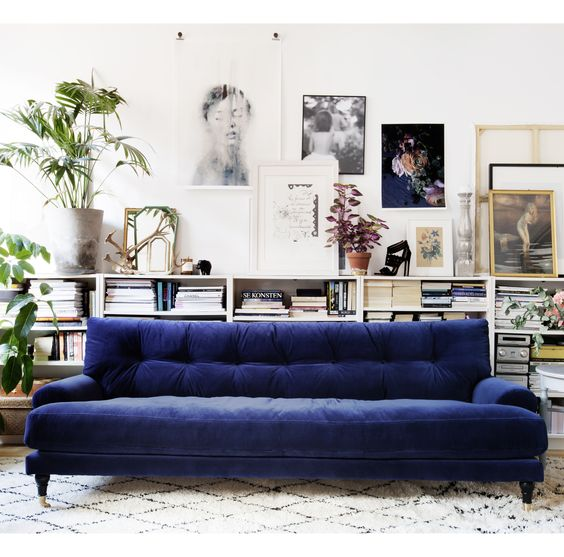9 Gorgeous velvet sofas you will be smitten with