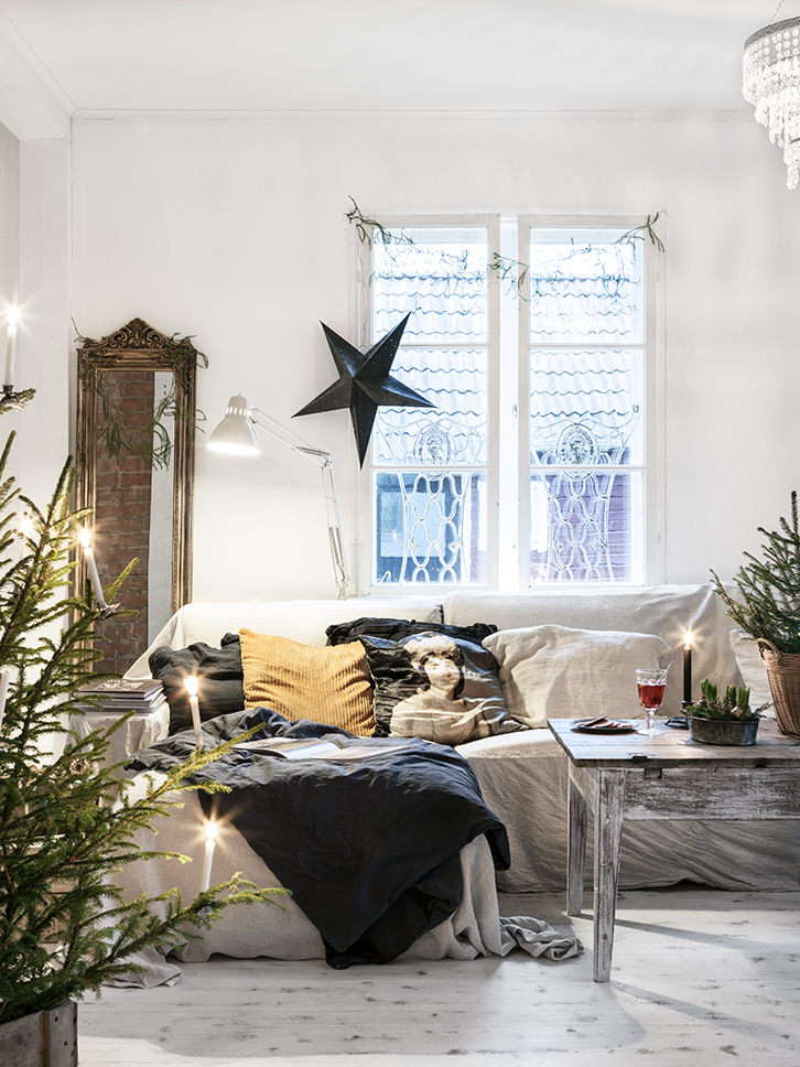 It's not a dreamy Christmasy home
