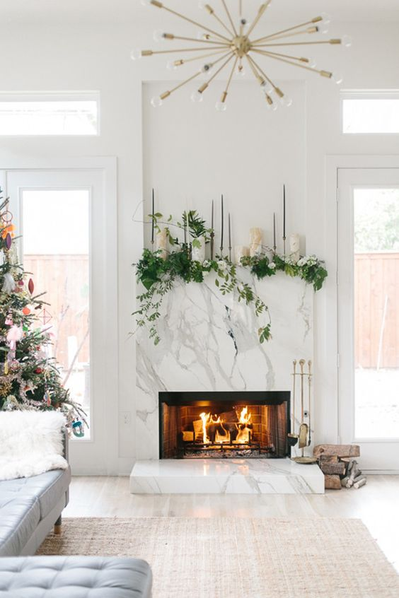 white-marble-and-trees-fireplace-winter