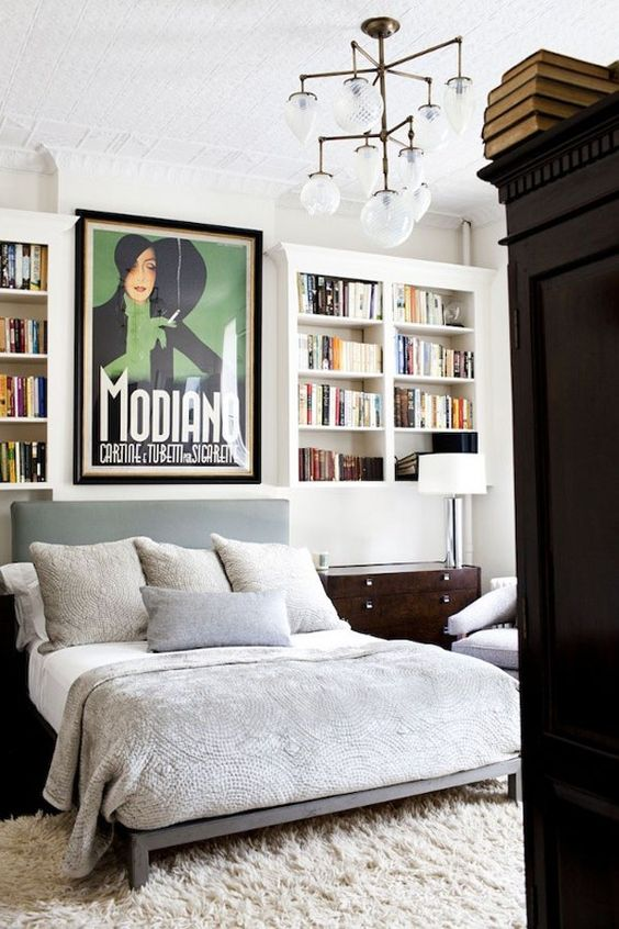bedrooms for book lovers stylish inquiry