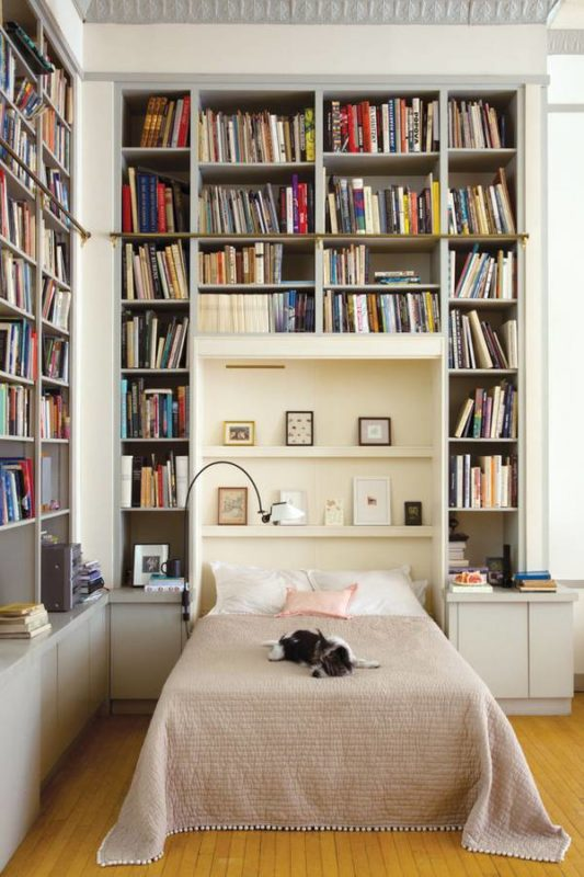 bedrooms for book lovers the white dream