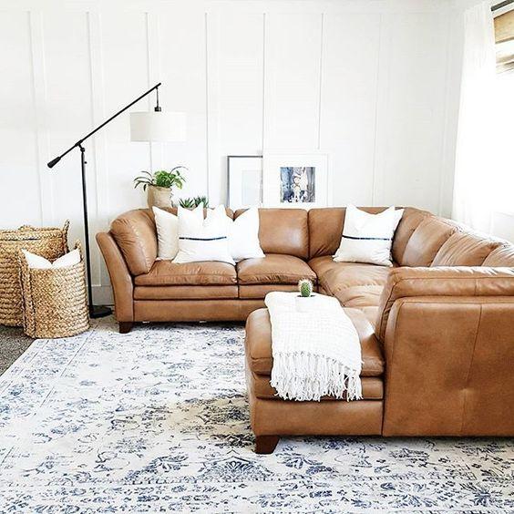 Decor With Camel Colored Sofa