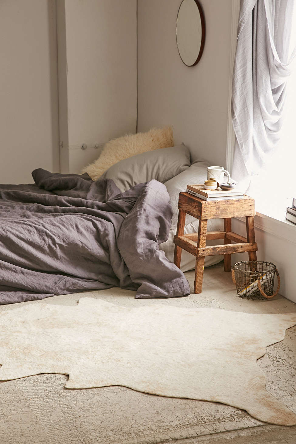 A dreamy bedroom for lazy winter mornings
