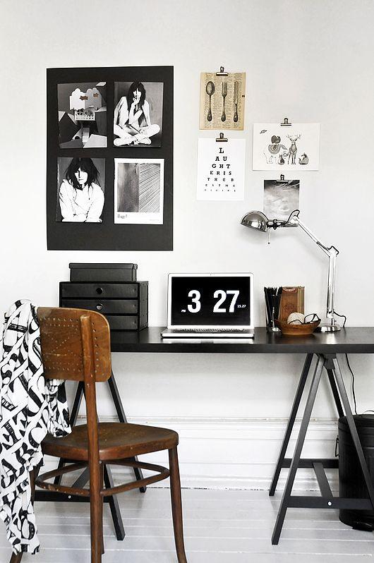 retro dream minimal office