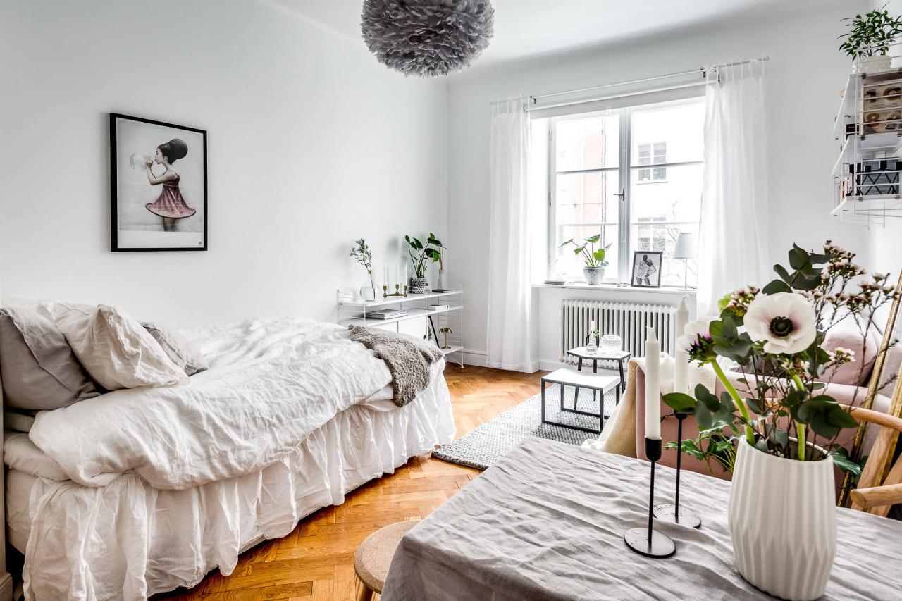 Charming Studio Apartment In Stockholm