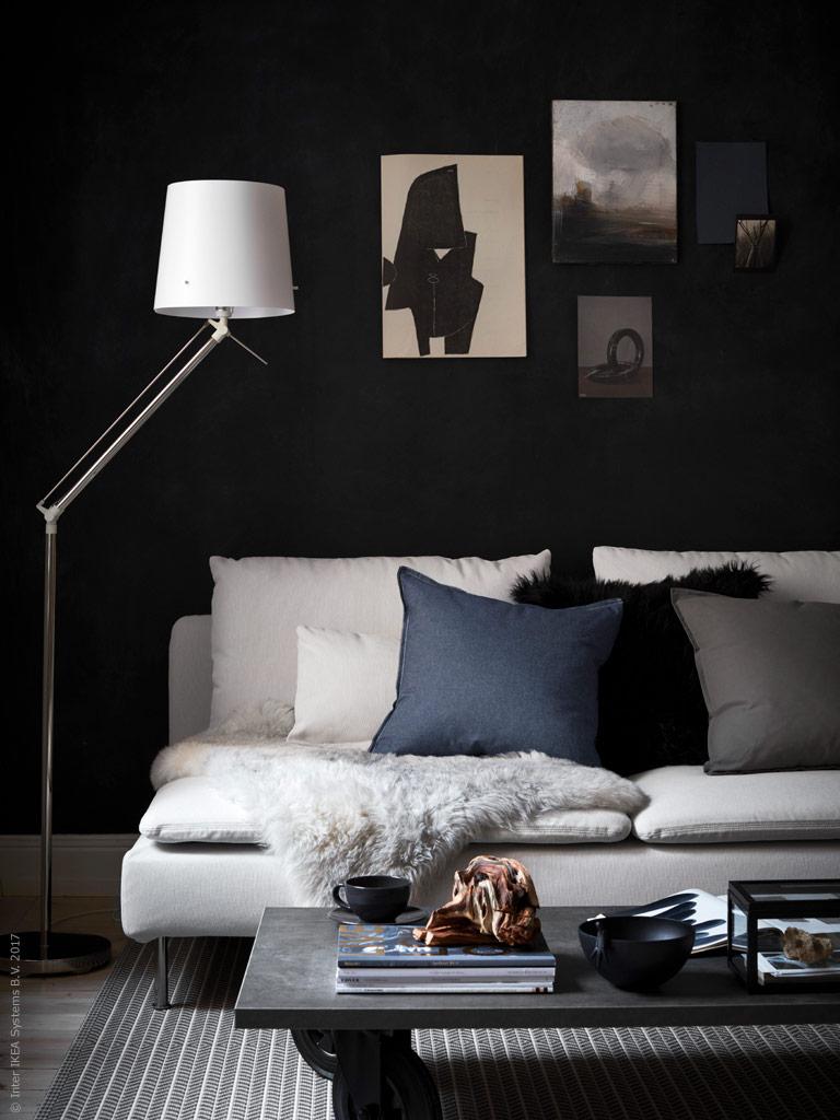contemporary ikea living room1