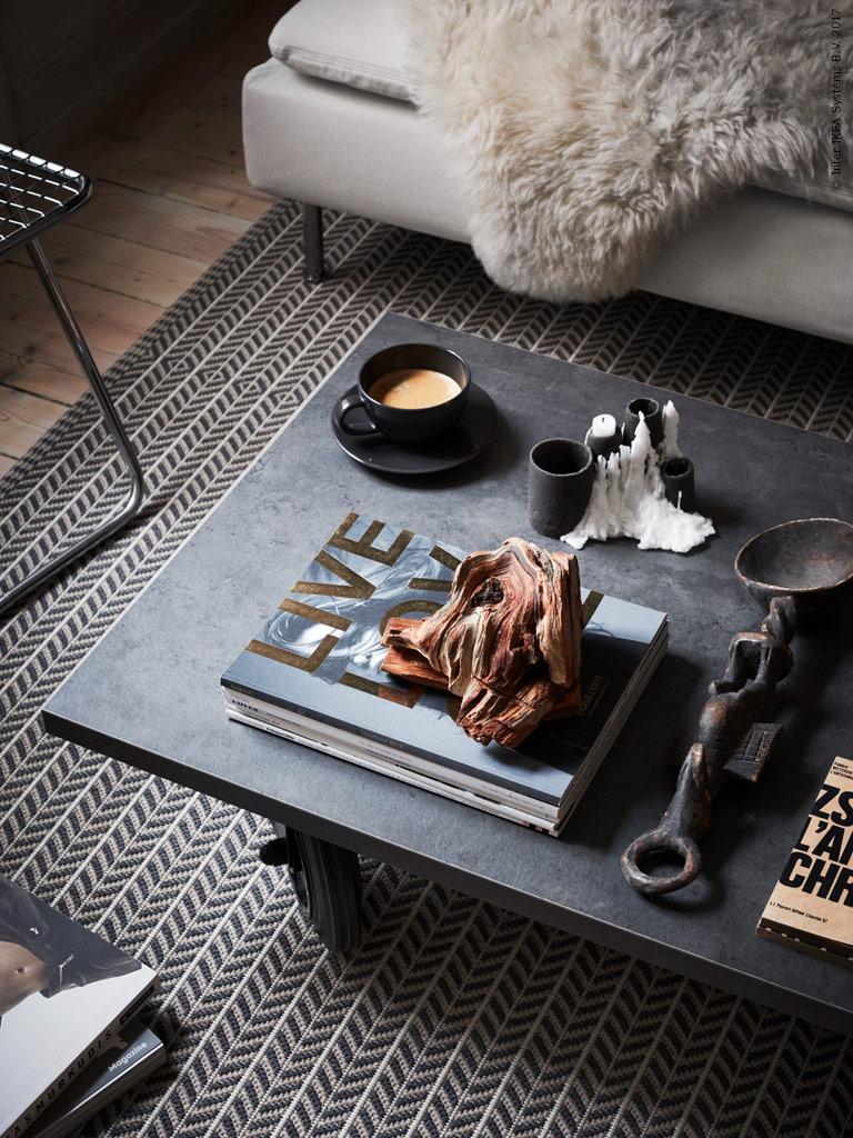 contemporary ikea living room2